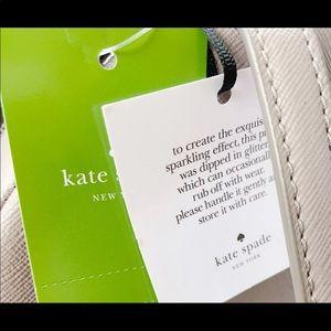 kate spade Bags - Gaby'sBags👜💕- Kate Spade Glitter Backpack Gray